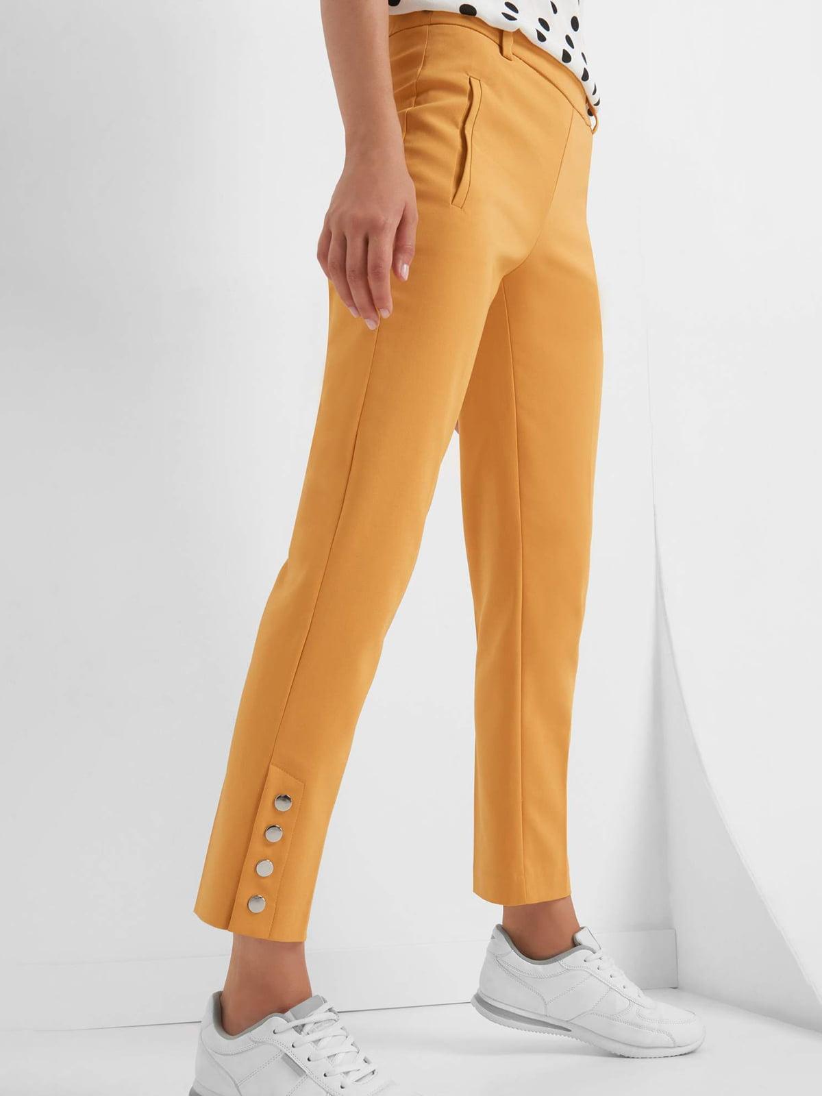 Брюки желтые | 4554555