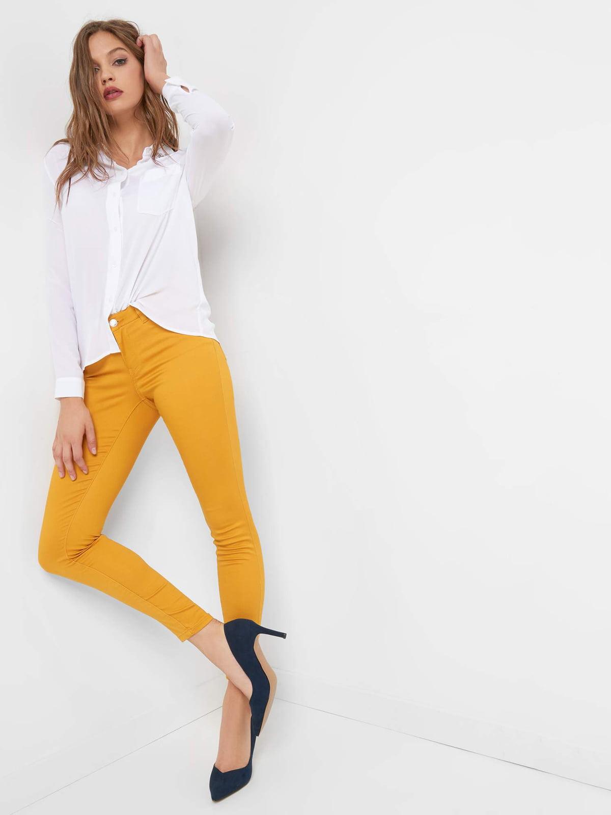 Штани жовті | 4554565