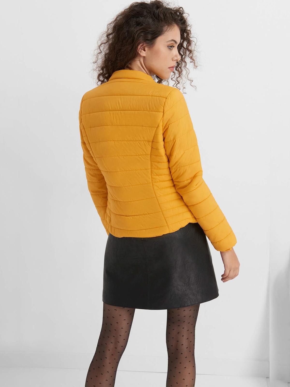 Куртка желтая | 4554636 | фото 2