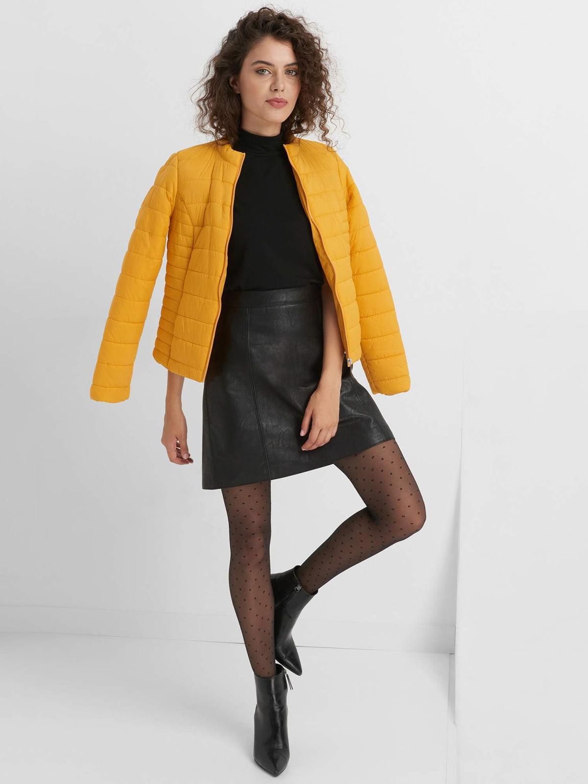 Куртка желтая | 4554636 | фото 4