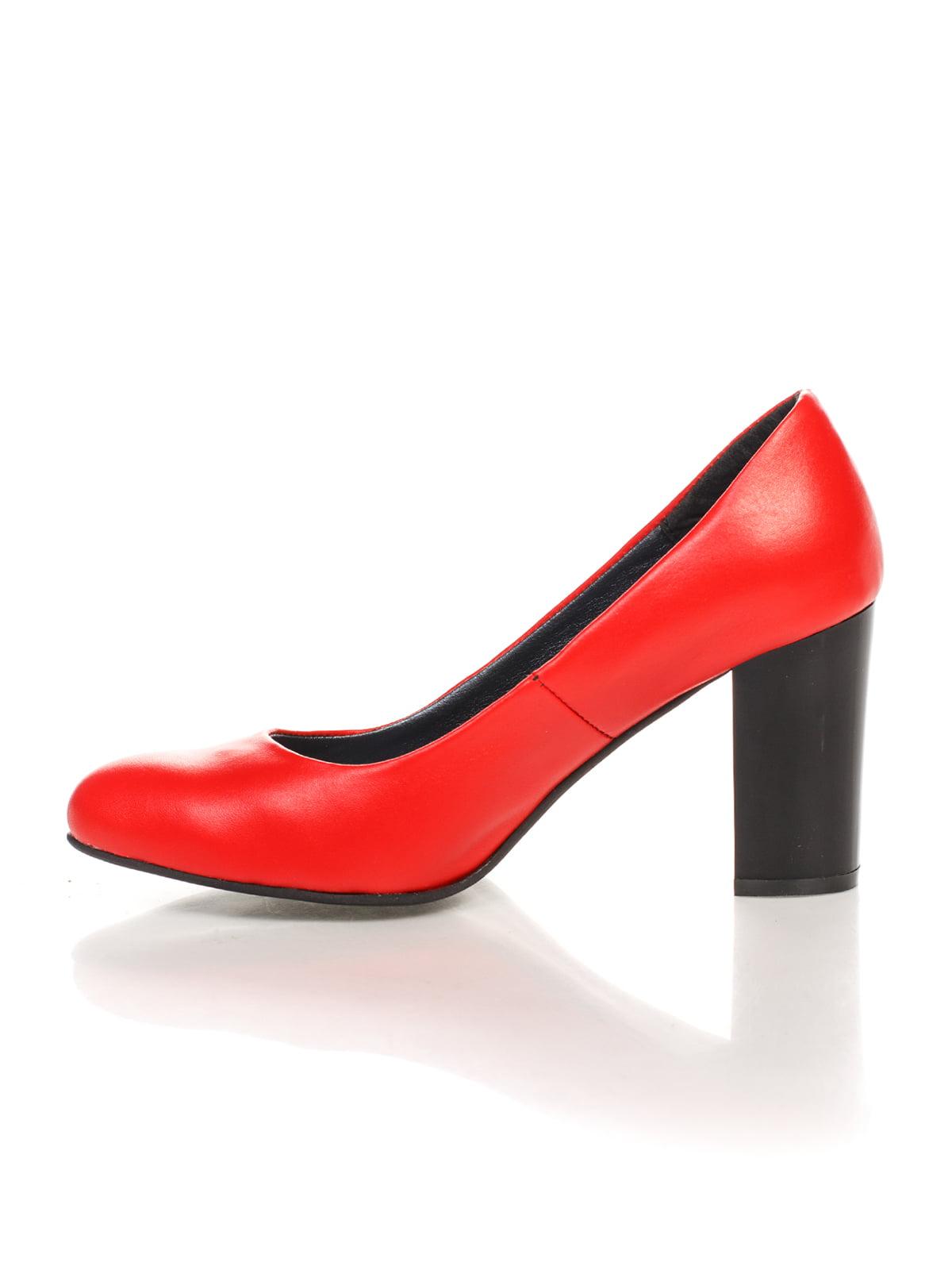 Туфли красные | 4479517 | фото 4