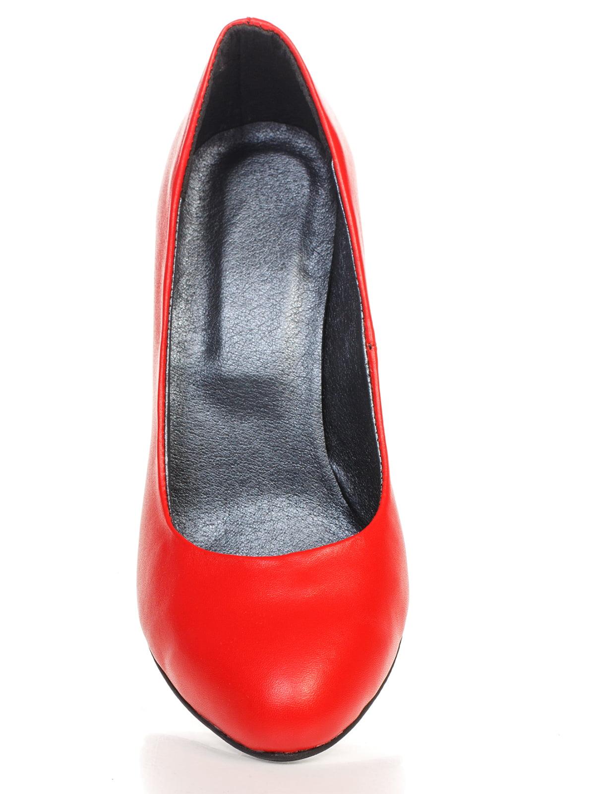 Туфли красные | 4479517 | фото 7