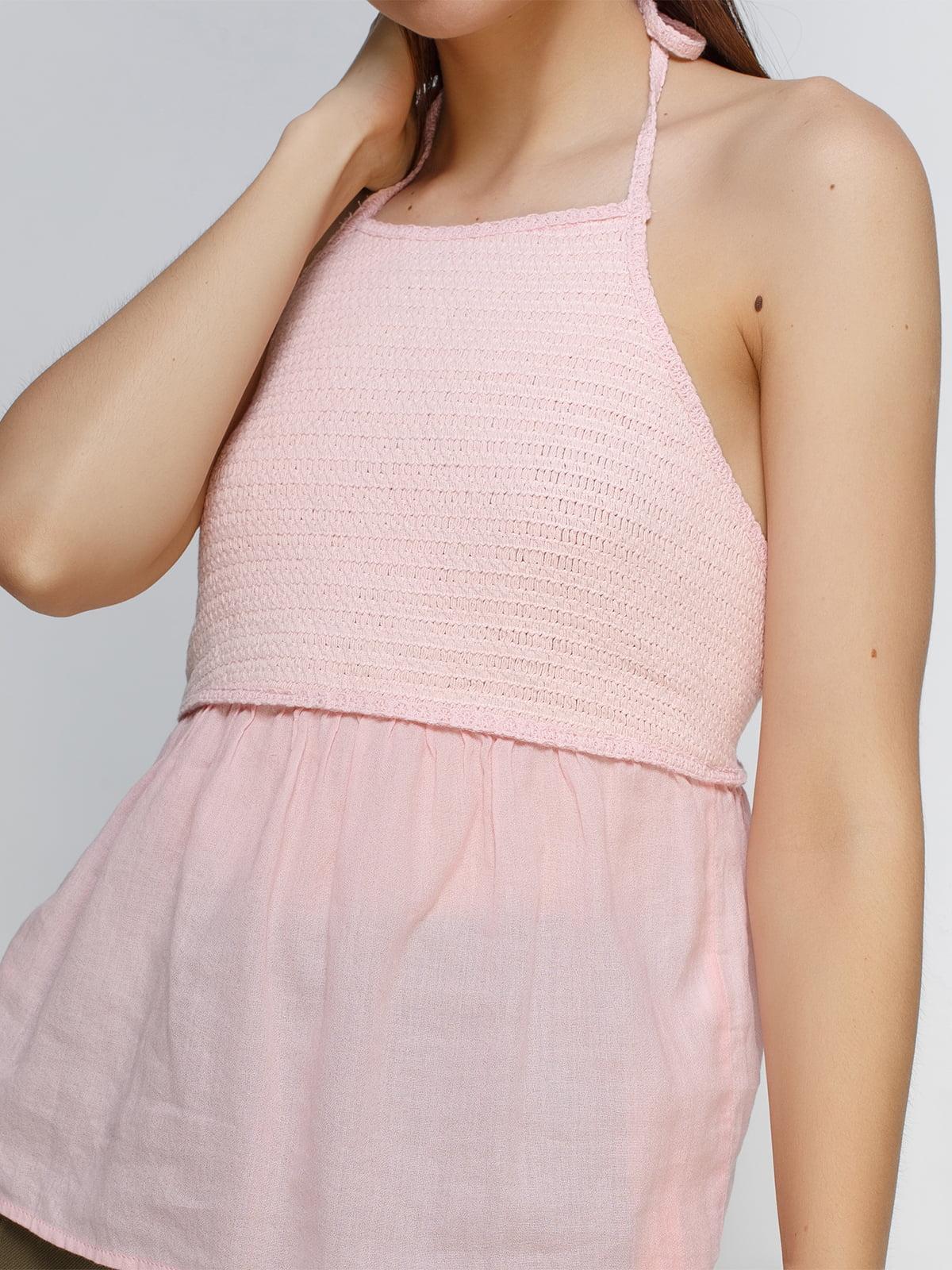 Топ рожевий | 4507093 | фото 4