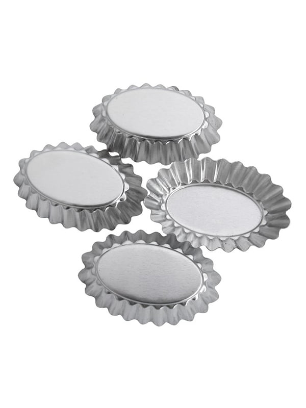 Форма для випічки (70х15 мм), (4 шт.) | 4458356