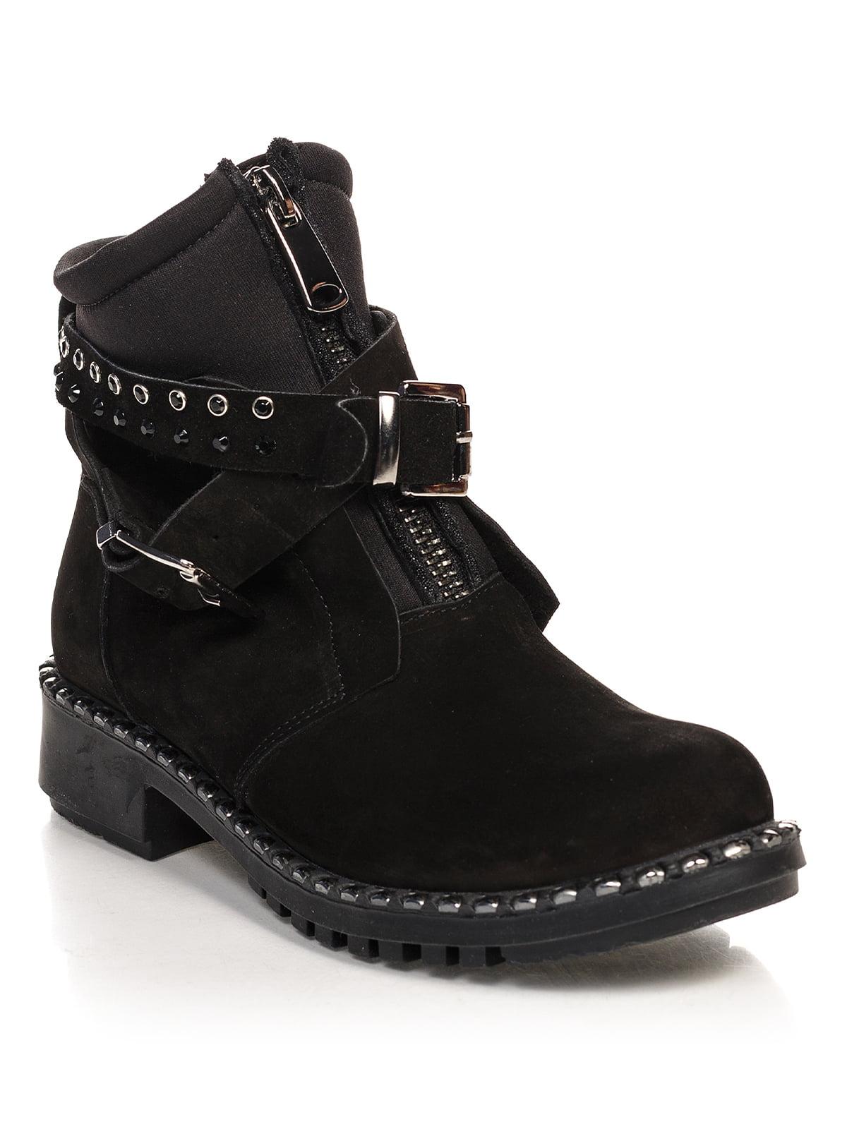 Ботинки черные   4548038