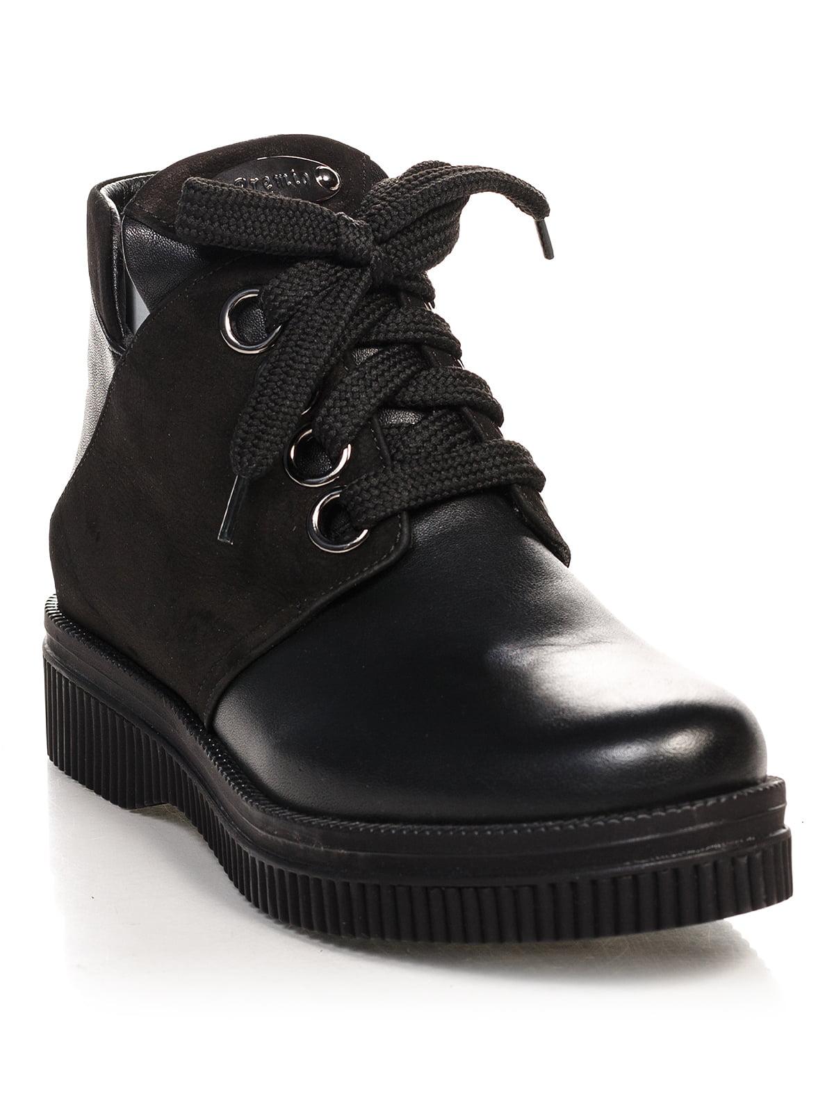 Ботинки черные | 4548039