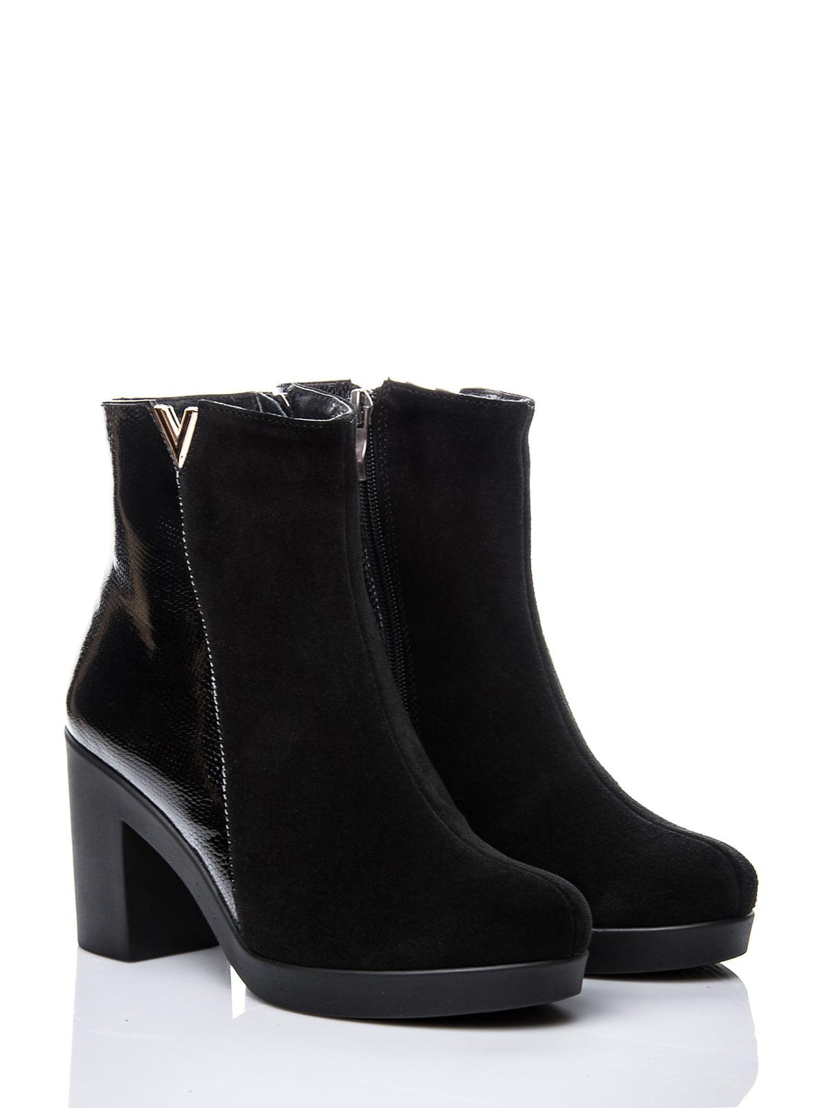 Ботинки черные | 2687403