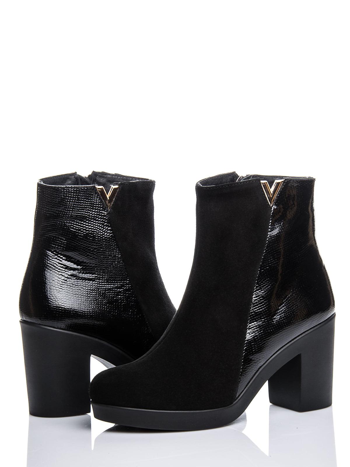 Ботинки черные | 2687403 | фото 2