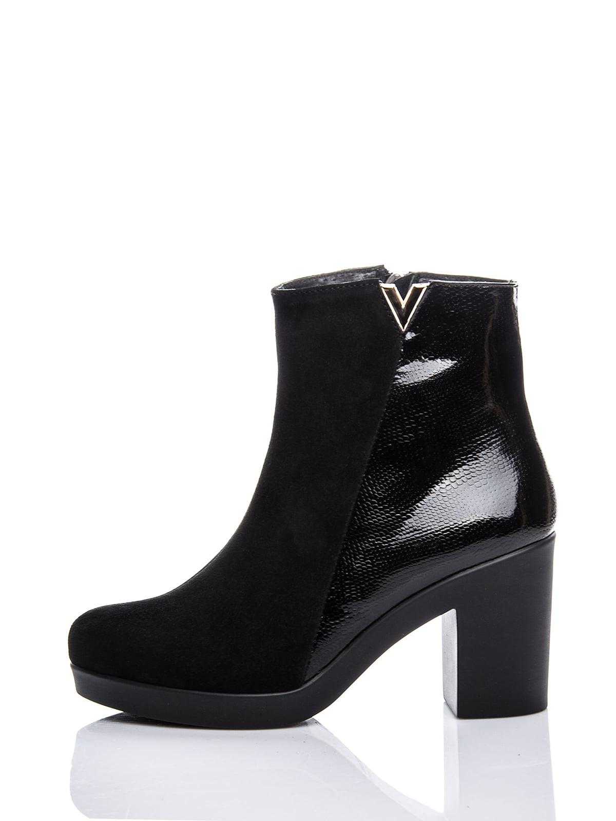 Ботинки черные | 2687403 | фото 3