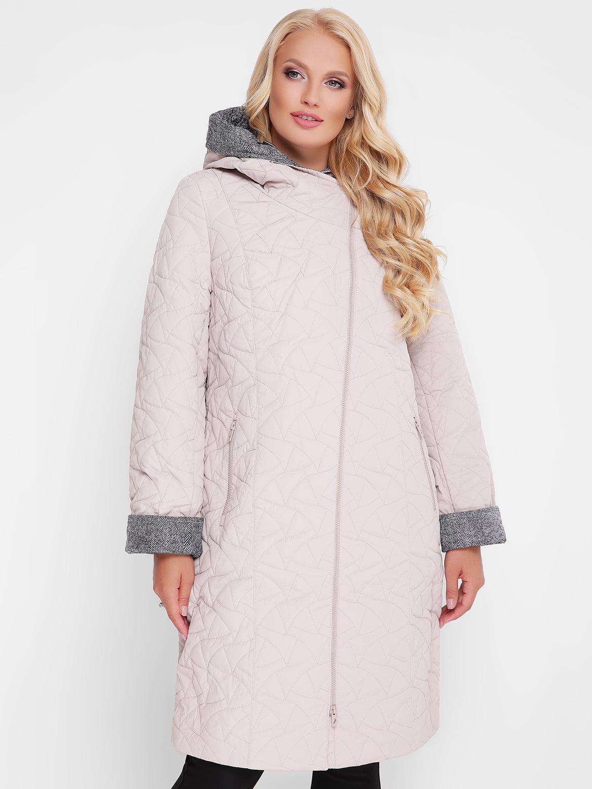 Пальто пудрового кольору | 4559427