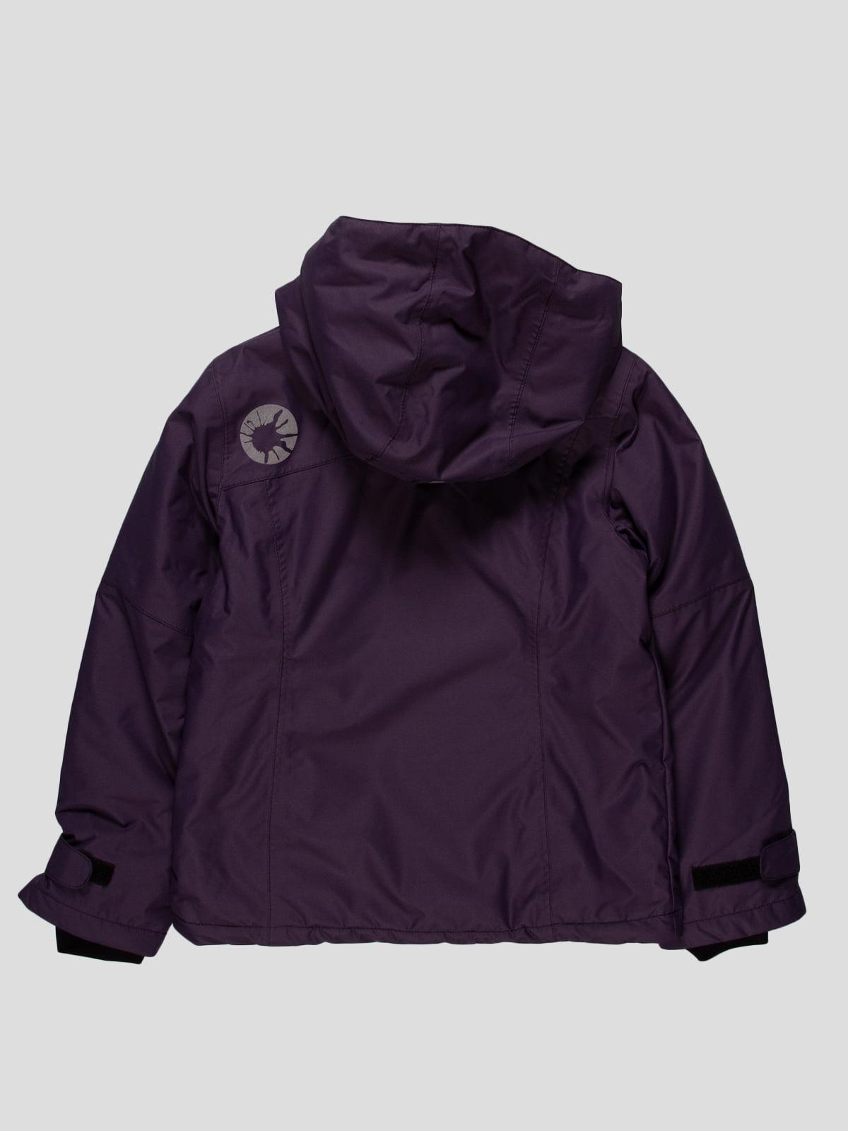 Куртка темно-фіолетова | 153246 | фото 2