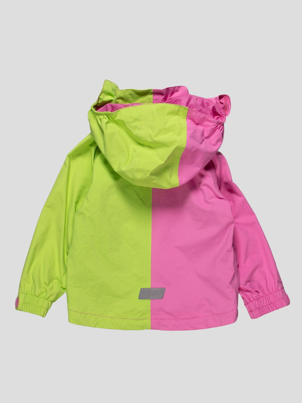 Вітрівка салатово-рожева   4545945   фото 2