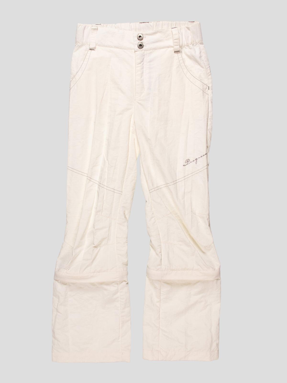 Штани-шорти білі | 4545992