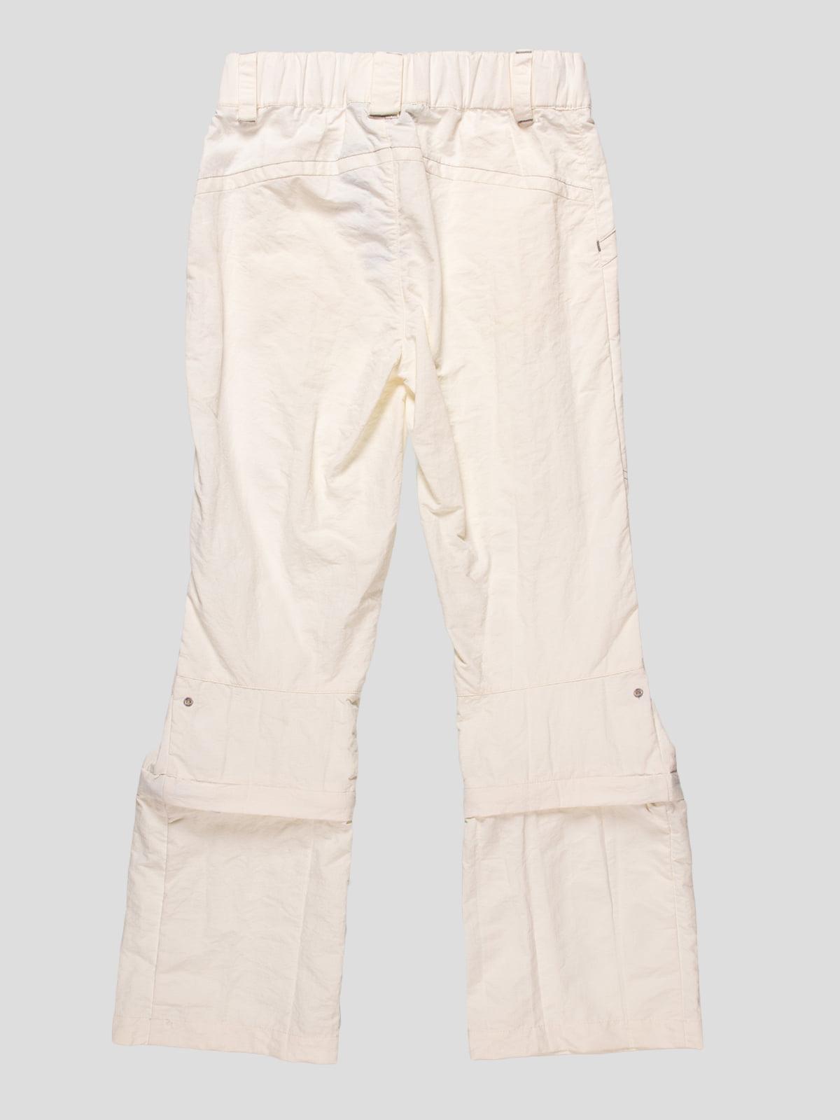 Штани-шорти білі | 4545992 | фото 2