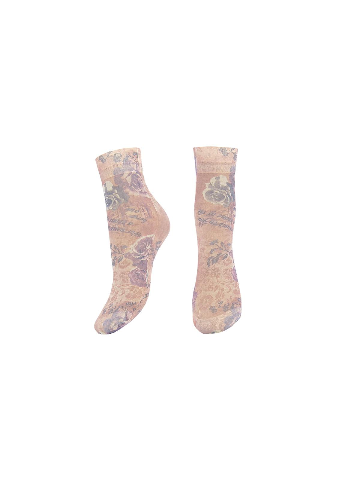Шкарпетки в принт | 4562331
