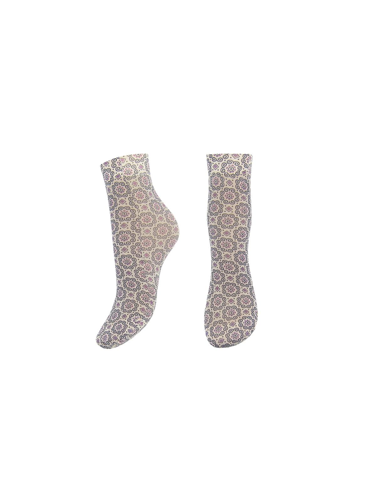 Шкарпетки в принт | 4562334