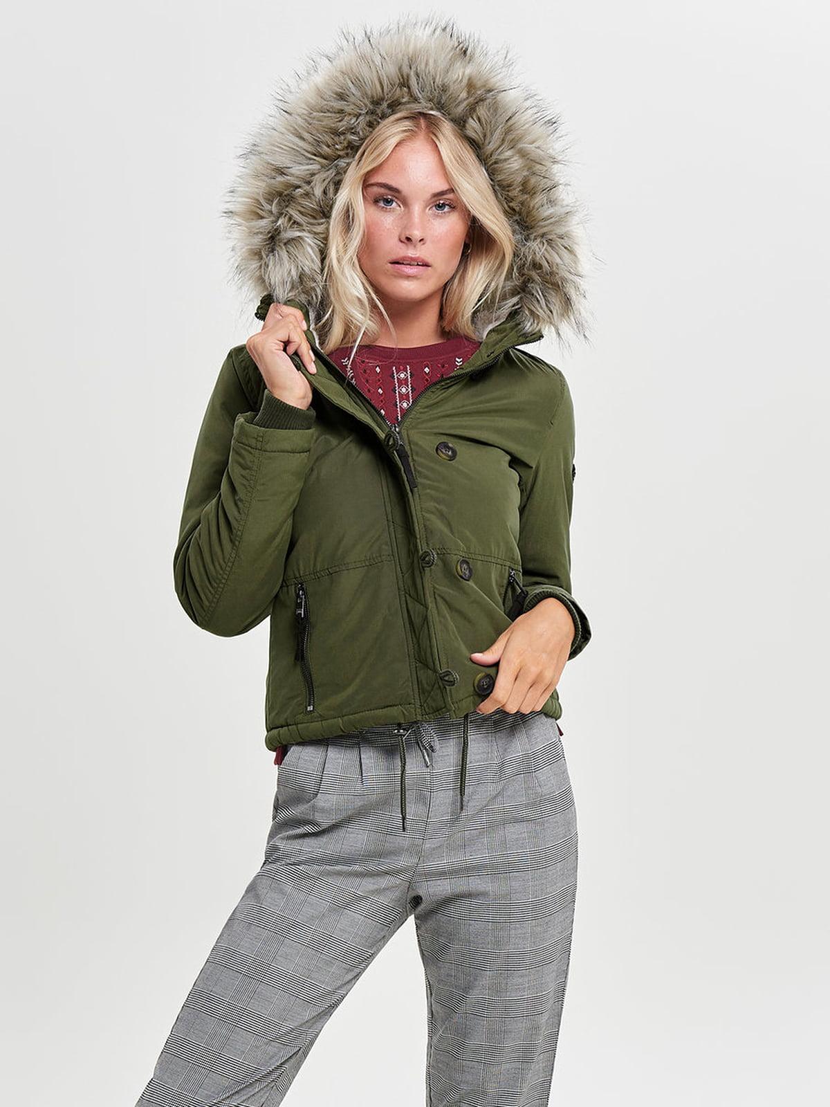 Куртка зелена | 4561451