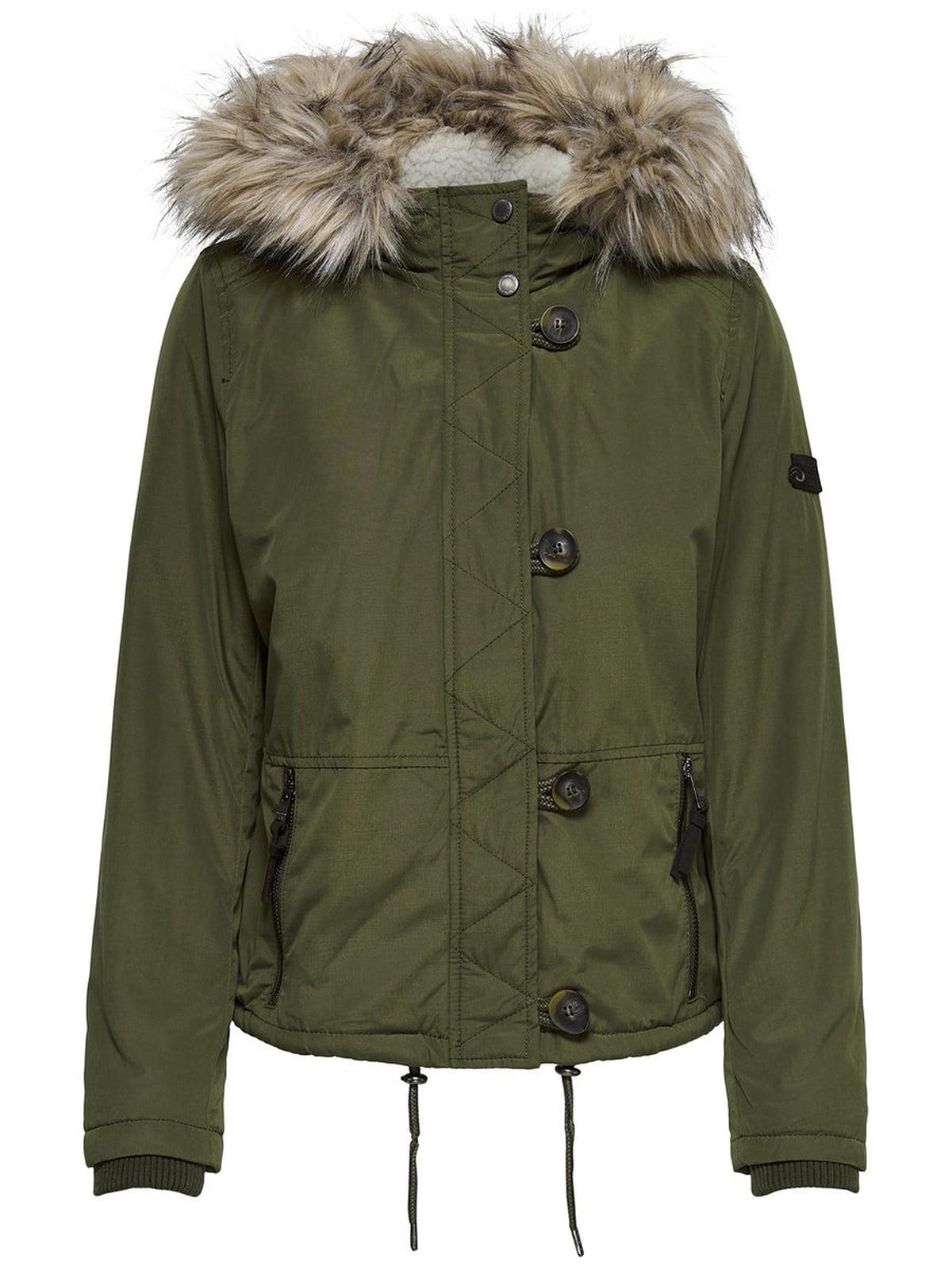 Куртка зелена | 4561451 | фото 4