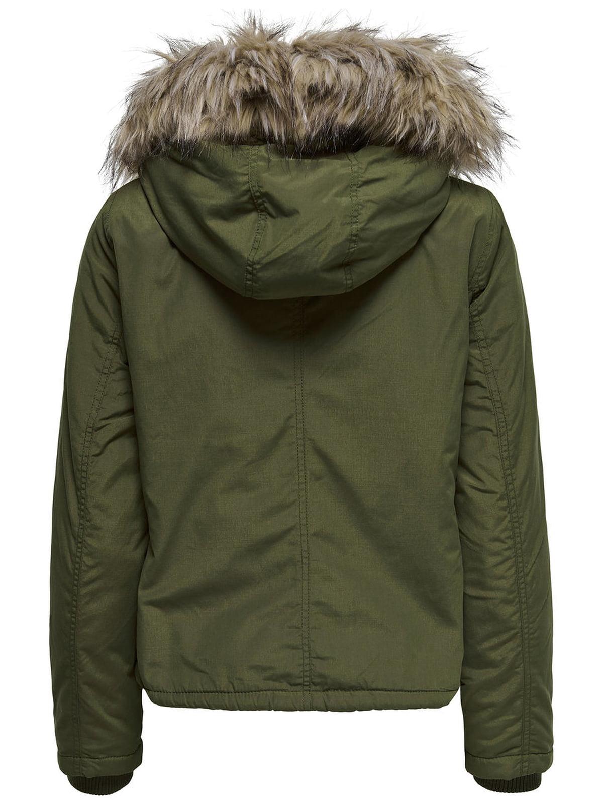 Куртка зелена | 4561451 | фото 5