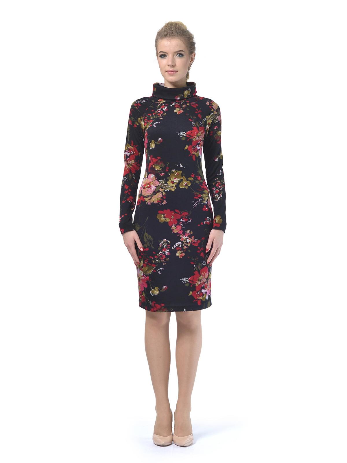 Платье в цветочный принт | 4133085