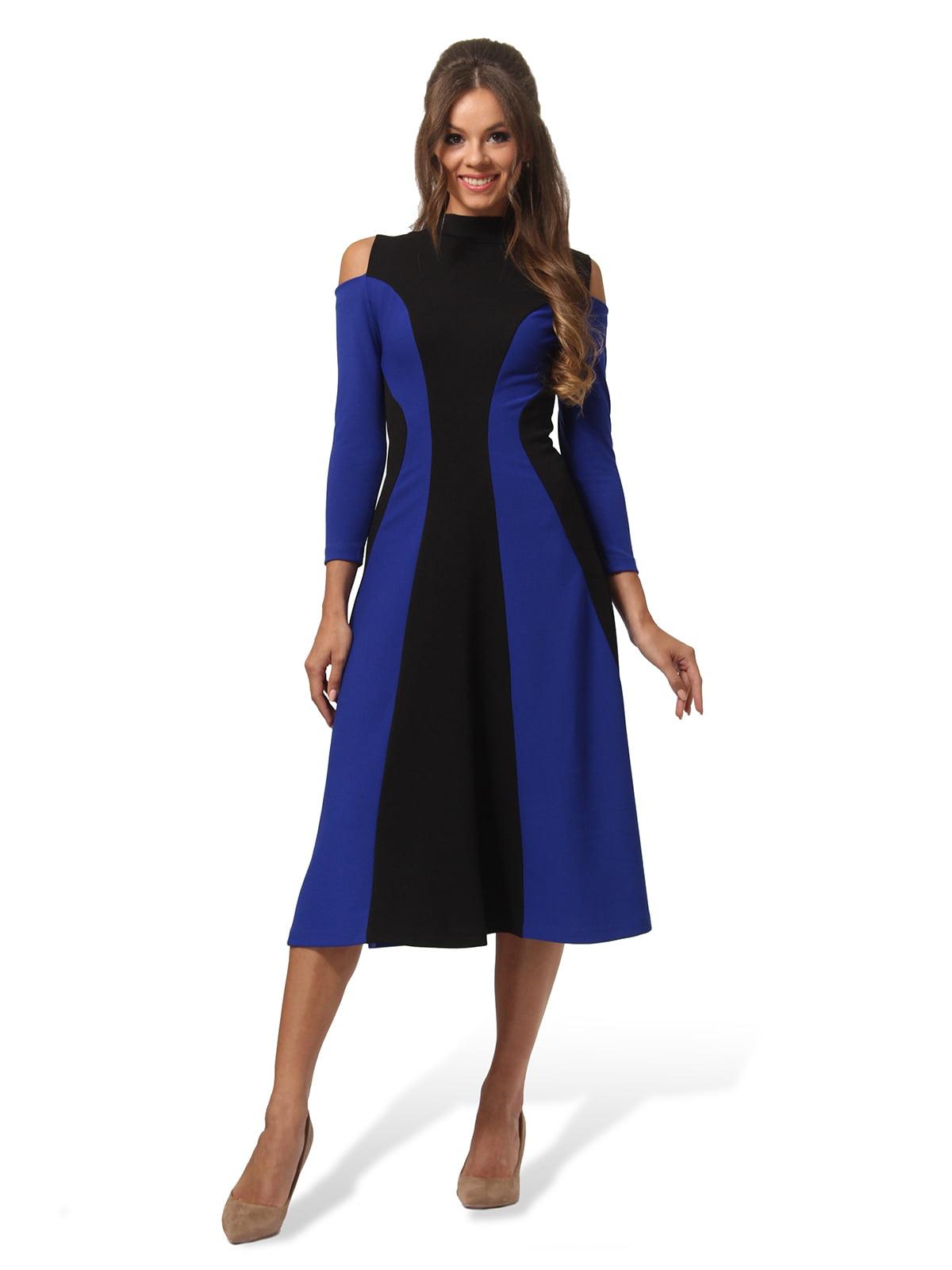 Платье двухцветное | 4563337 | фото 2