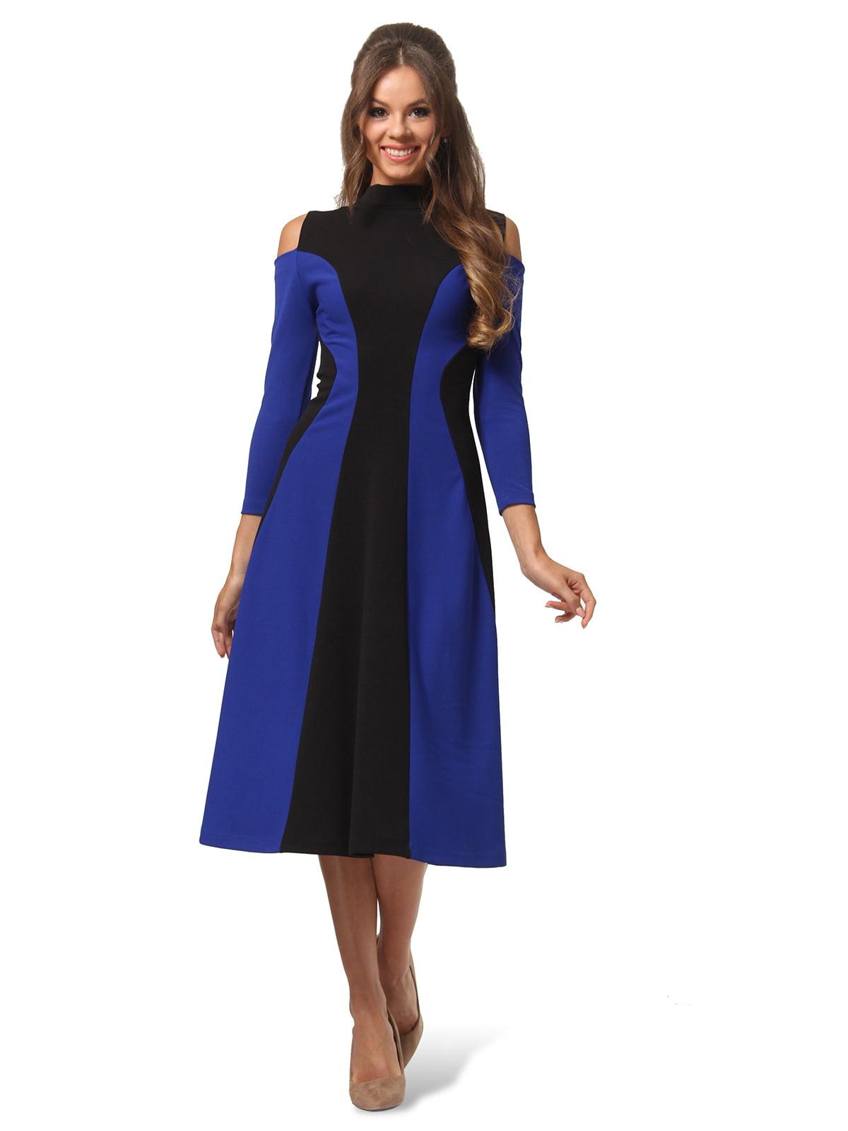 Платье двухцветное | 4563337 | фото 4