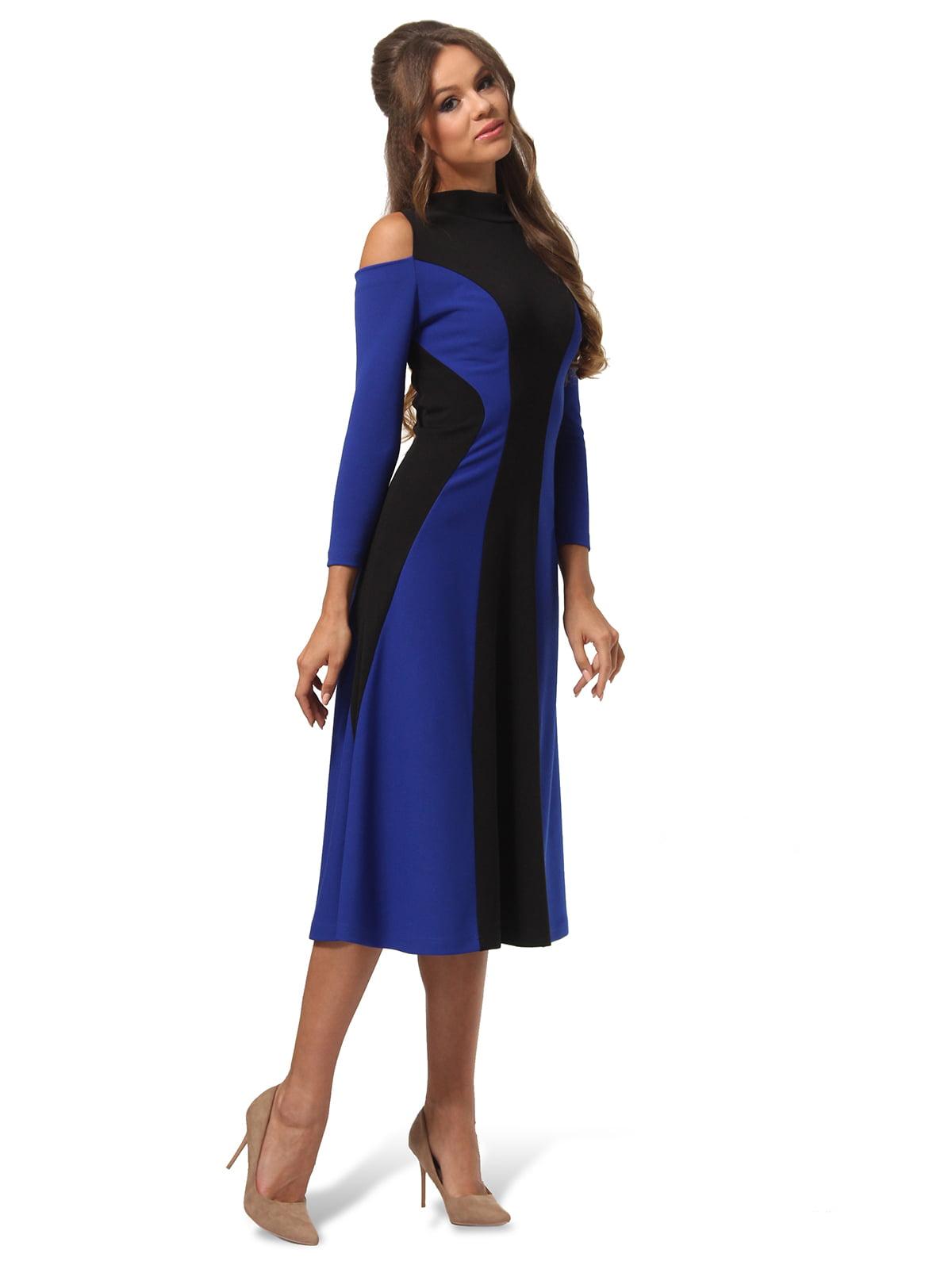 Платье двухцветное | 4563337 | фото 5