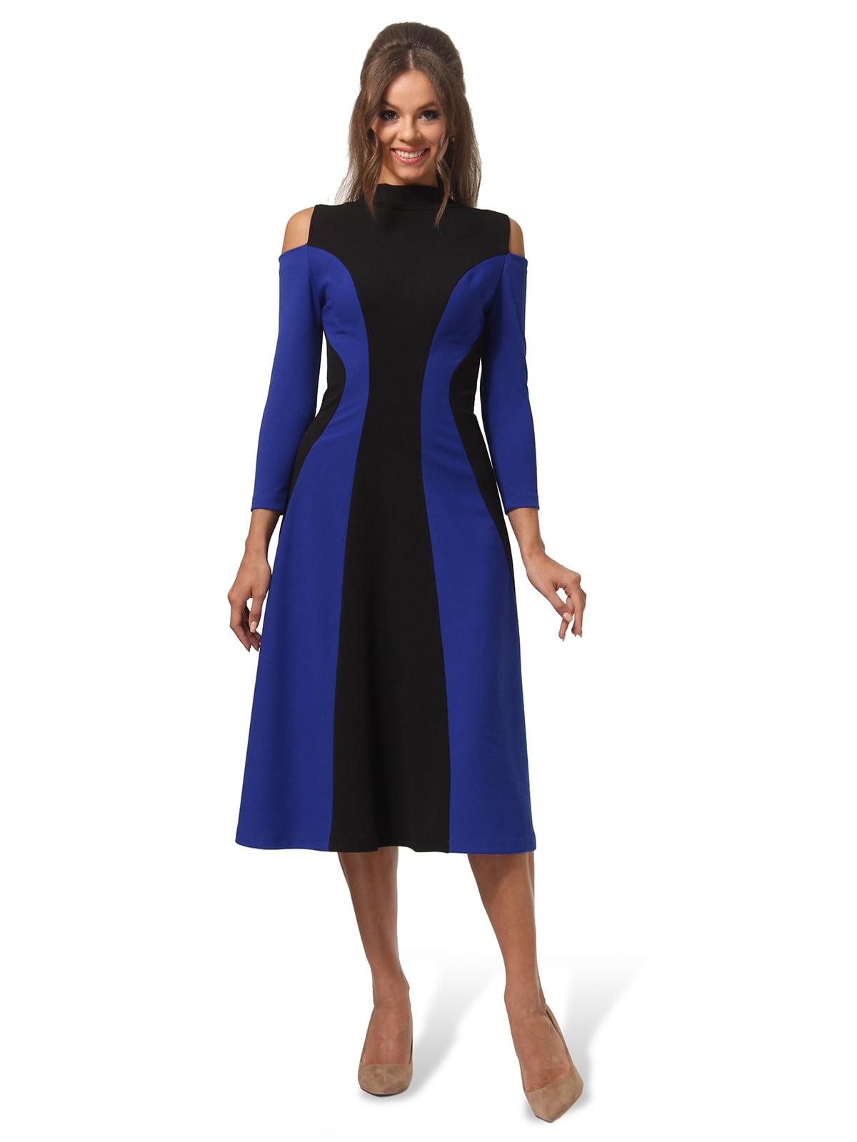 Платье двухцветное | 4563337 | фото 6