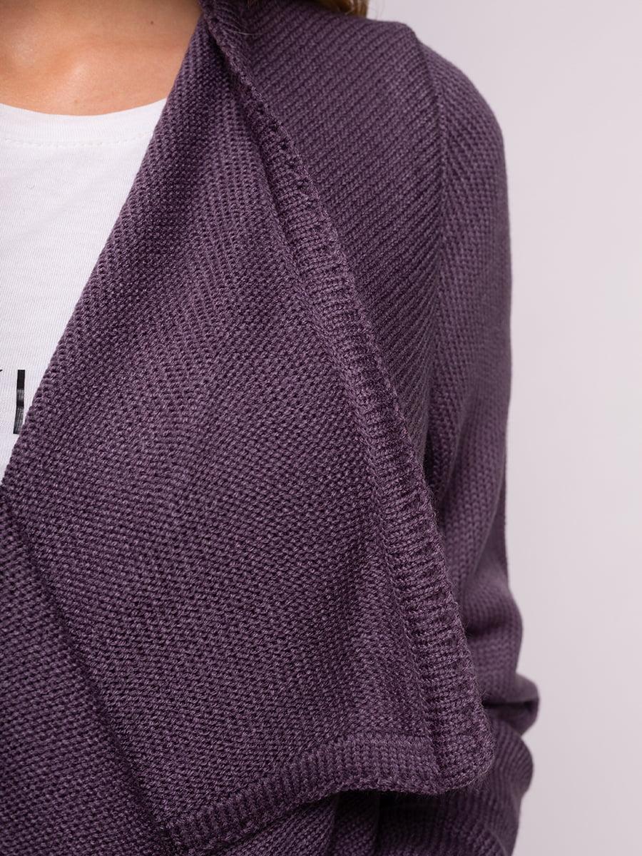 Кардиган фіолетовий | 4566883 | фото 4