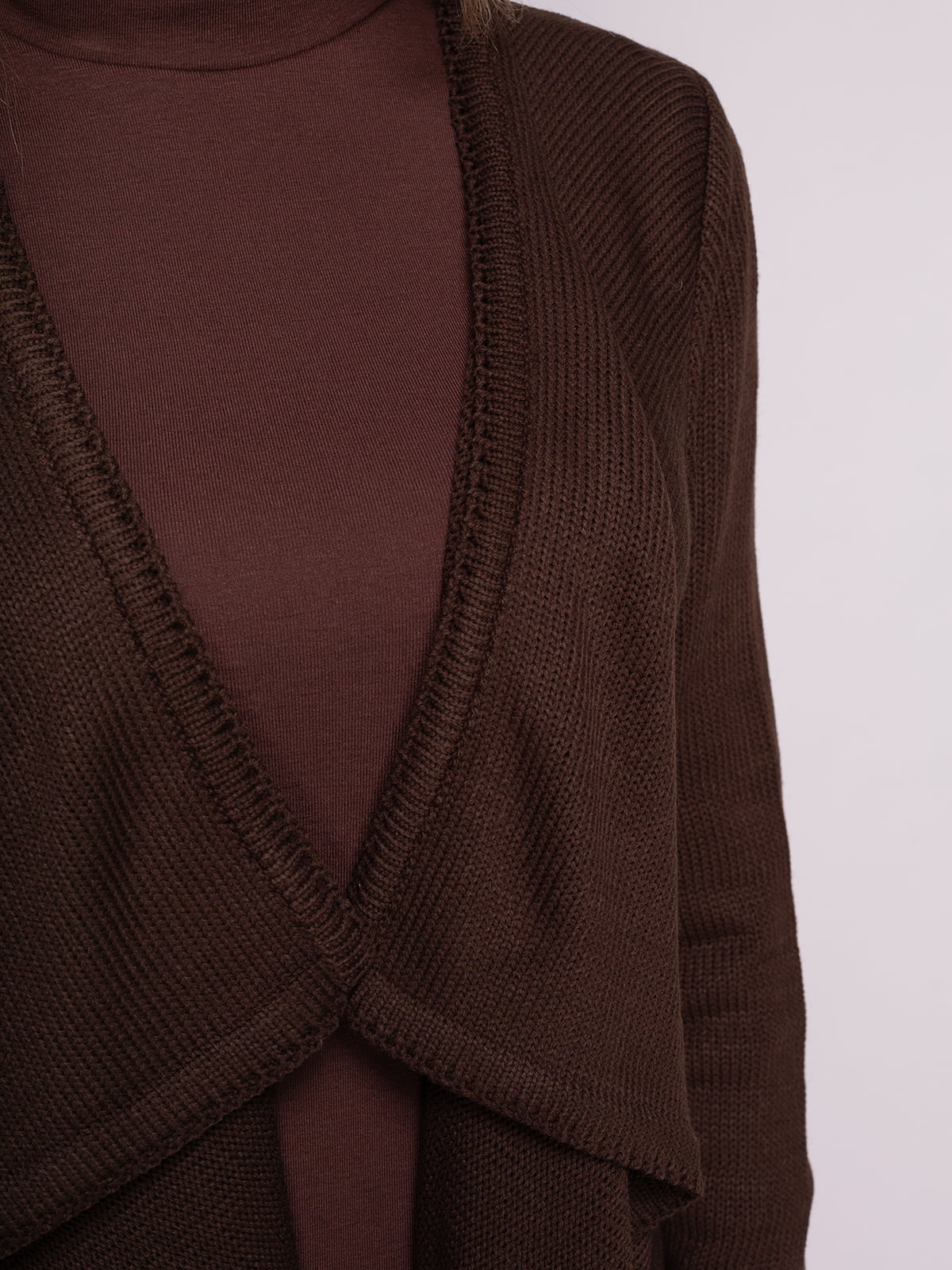 Кардиган коричневий | 4566885 | фото 4