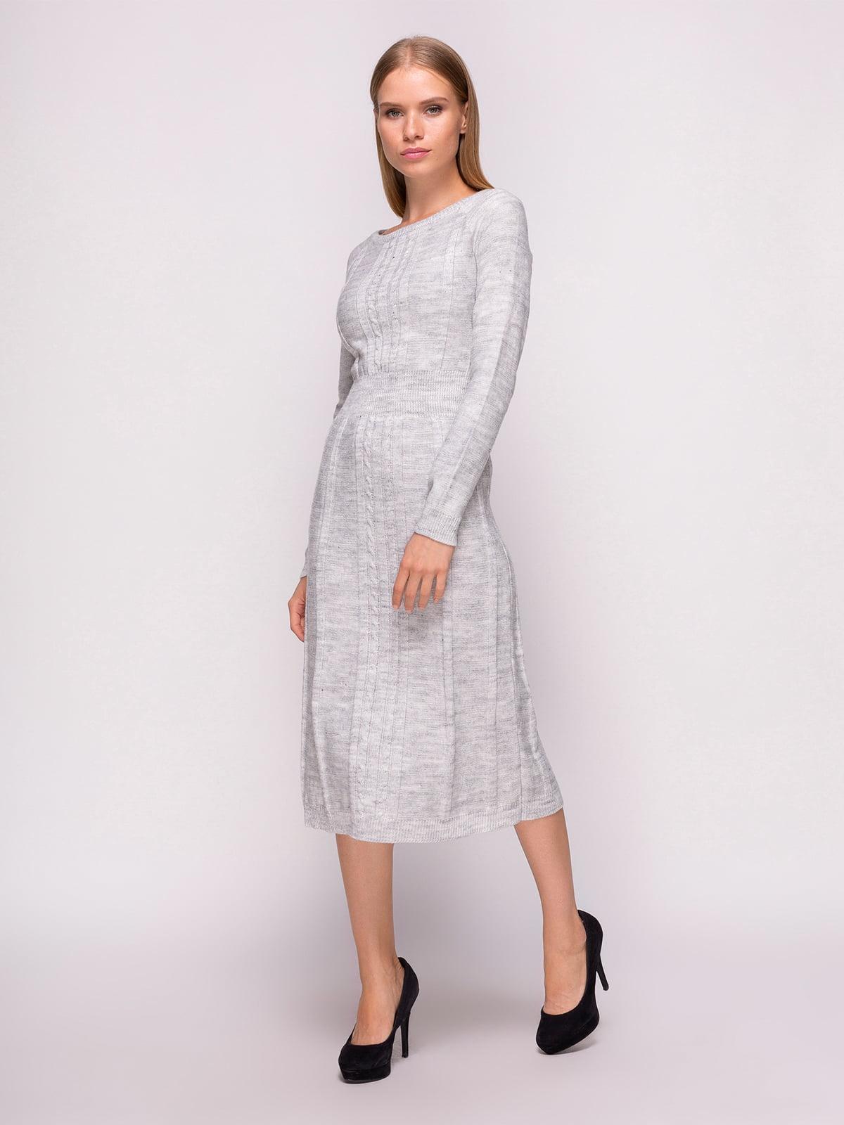 Сукня світло-сіра | 4566889