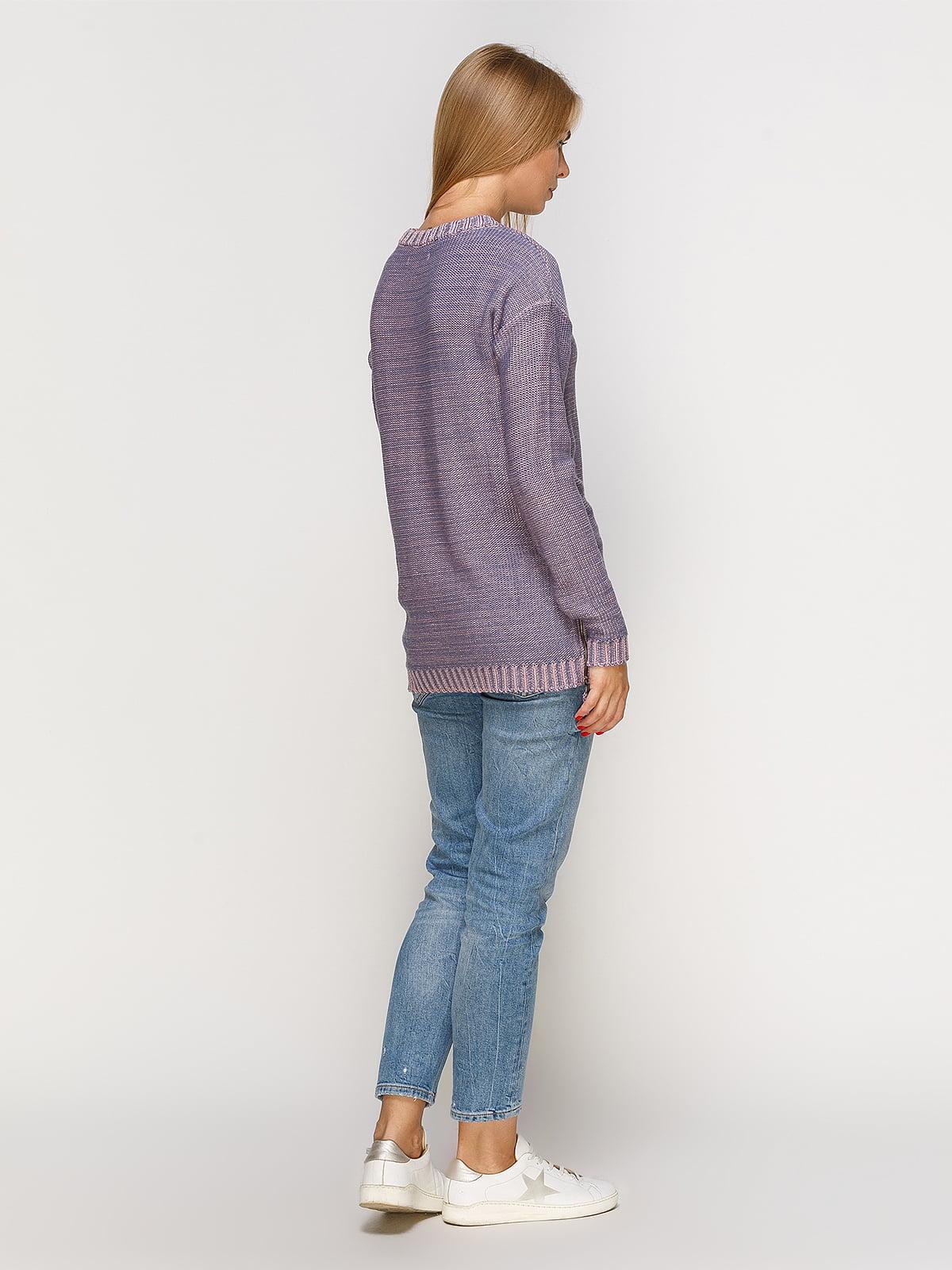 Джемпер рожево-блакитний   4566890   фото 3