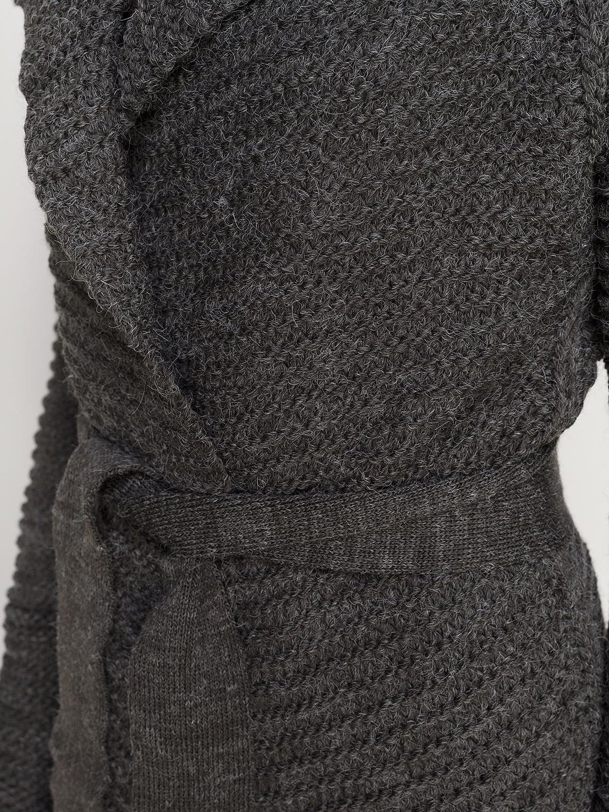Кардиган темно-серый   4566990   фото 3