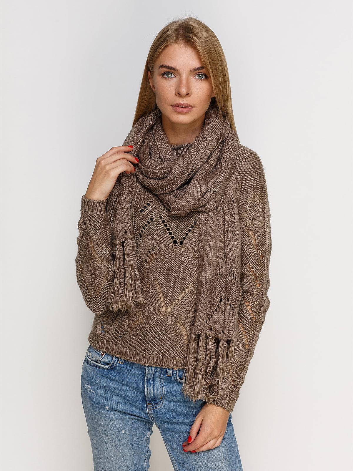Комплект: джемпер і шарф | 4567007