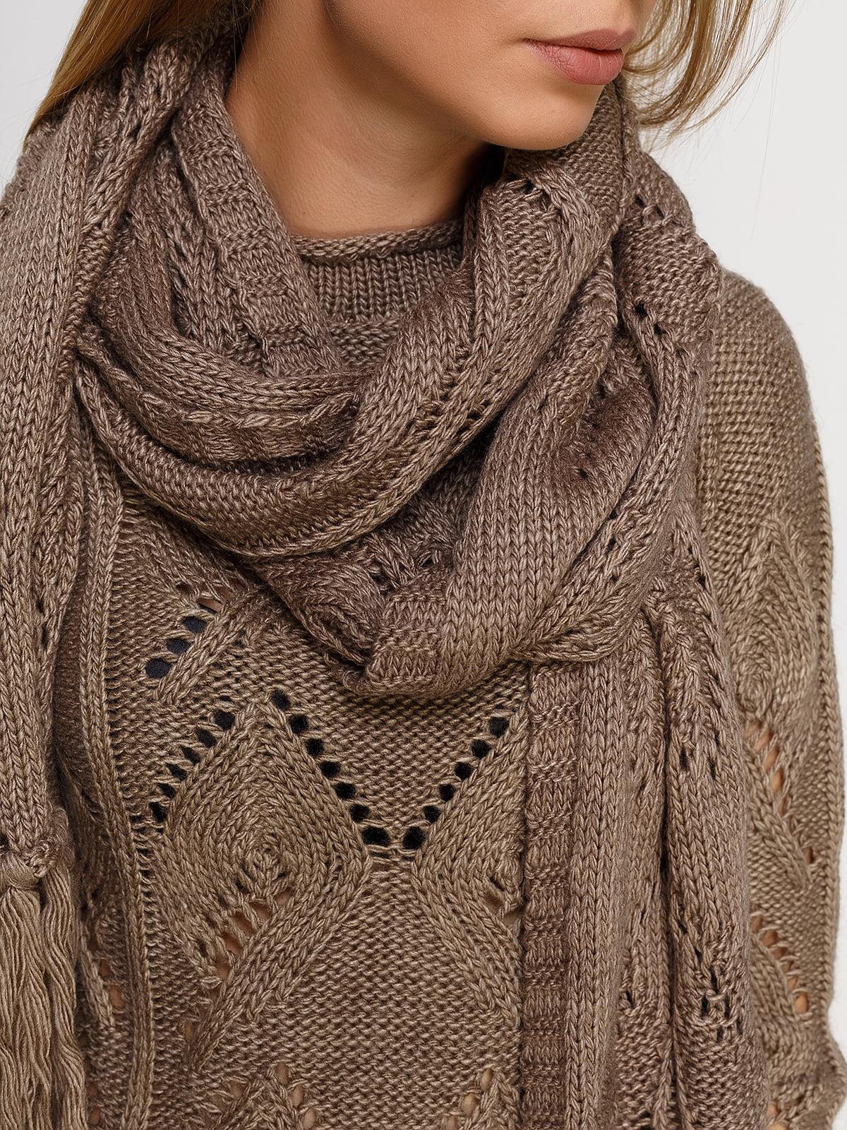 Комплект: джемпер і шарф | 4567007 | фото 4