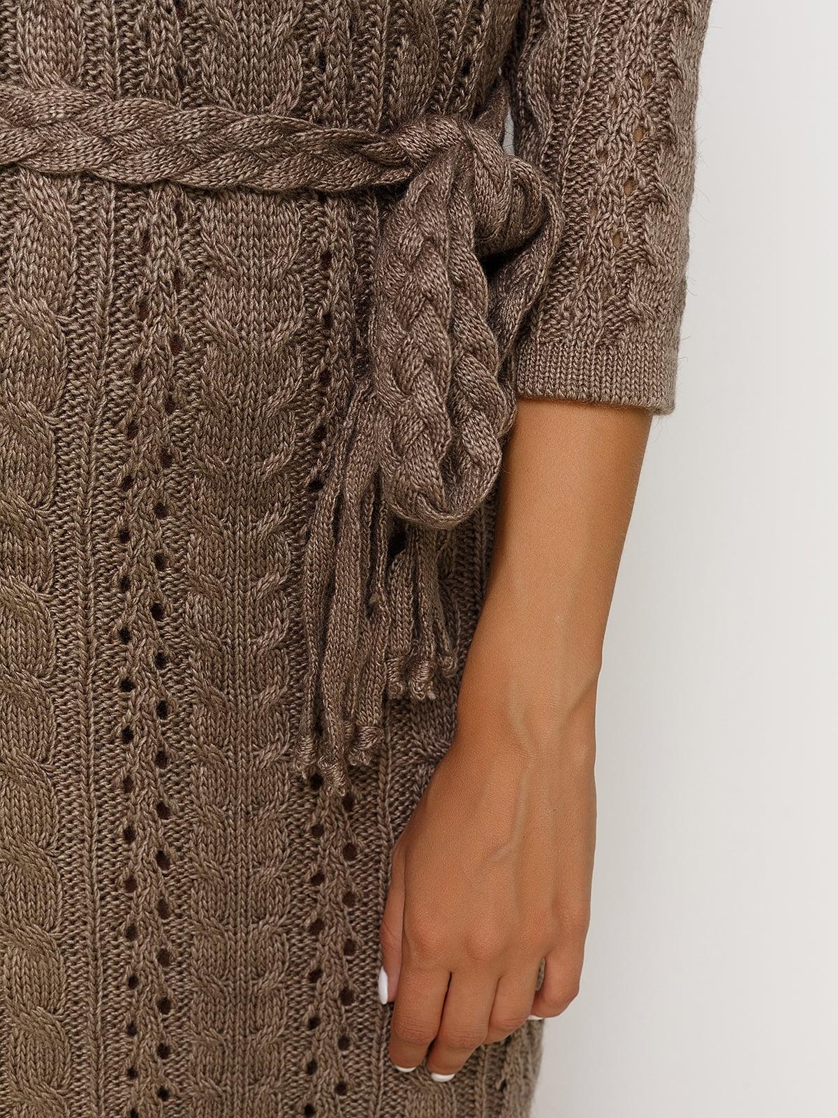 Сукня кольору капучино | 4567111 | фото 3