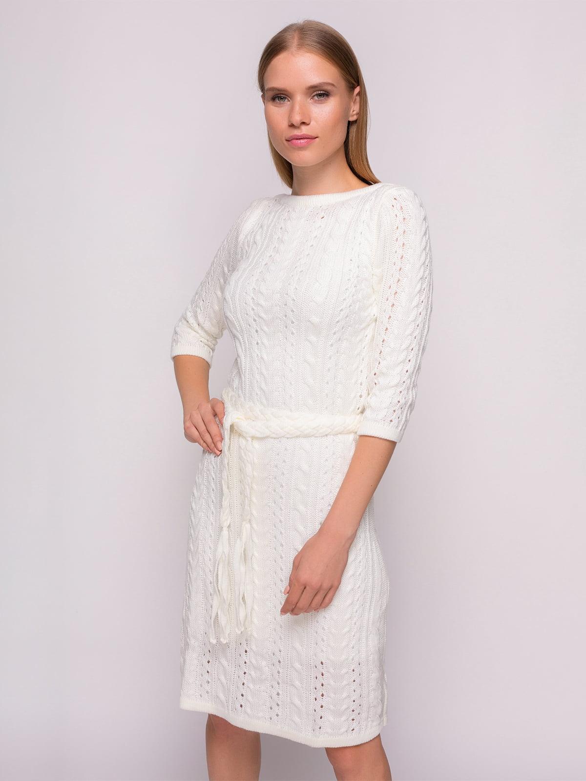 Сукня молочного кольору   4567112