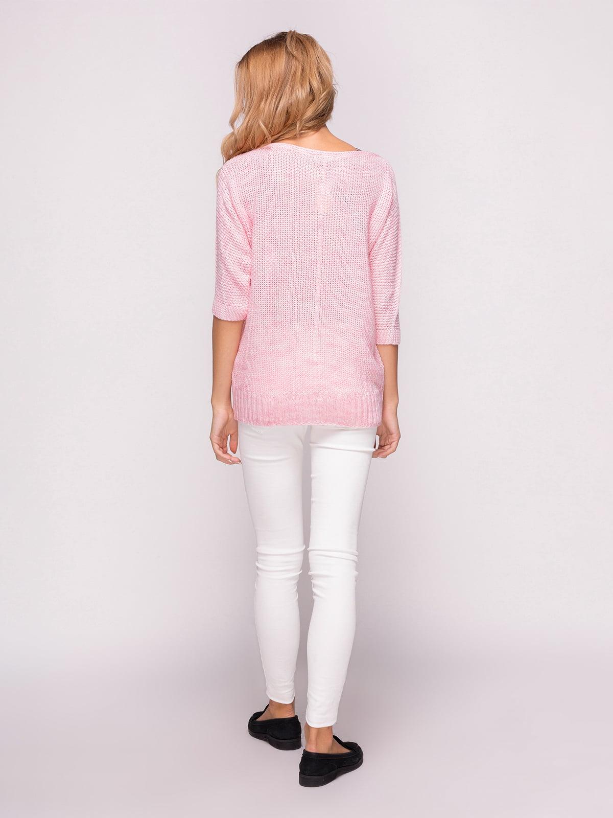 Джемпер рожевий   4567010   фото 3