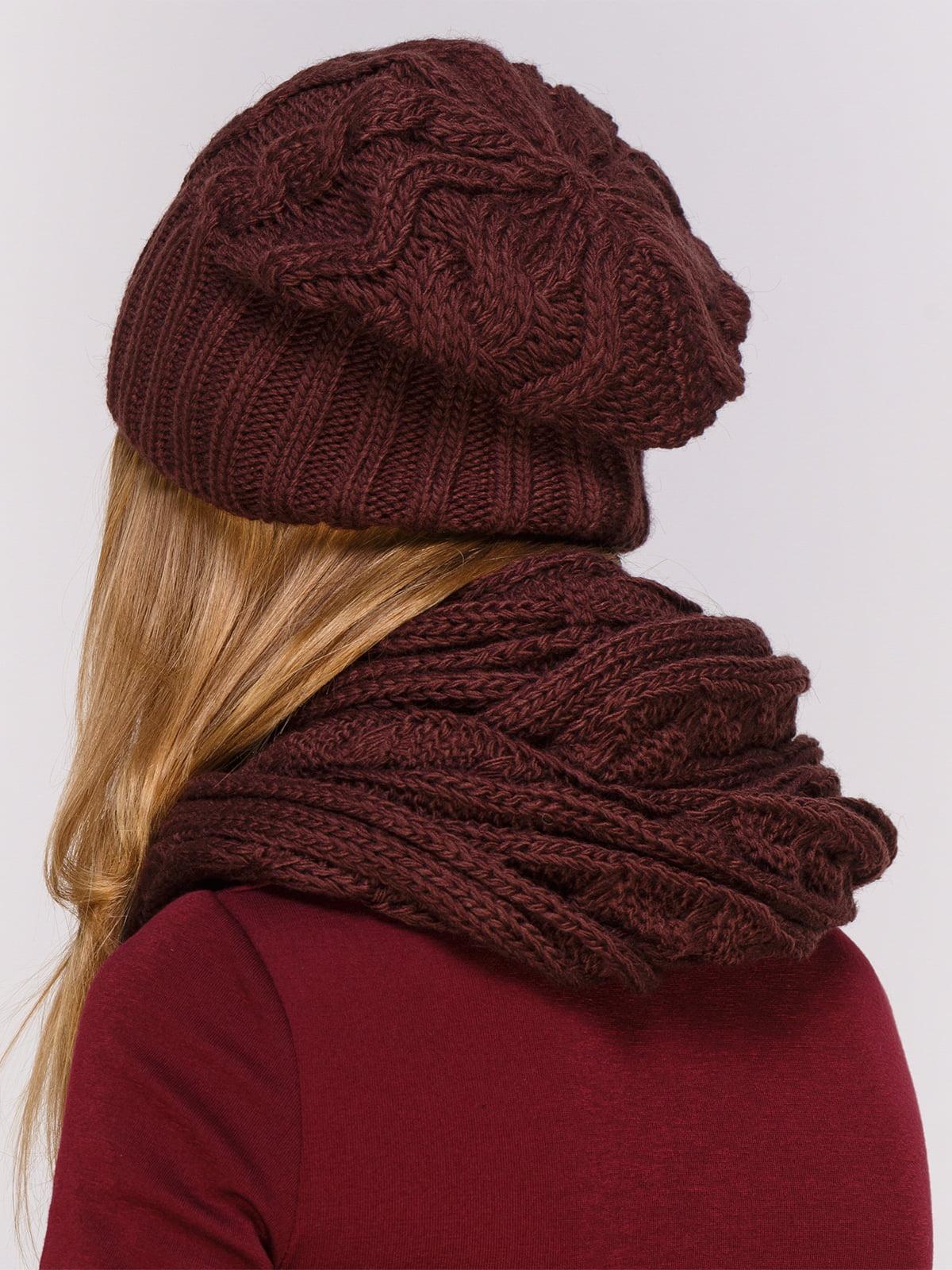 Комплект: шапка и хомут | 4567148 | фото 2
