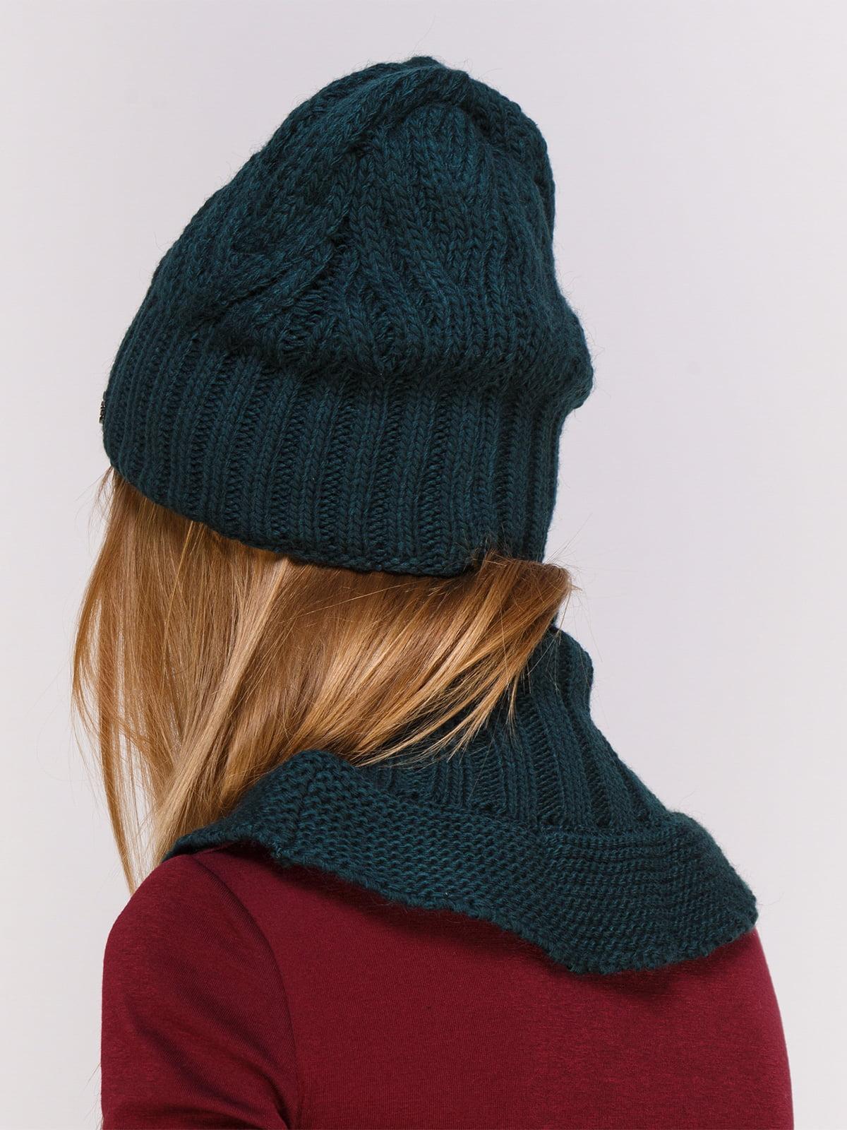 Комплект: шапка і комір   4567173   фото 2