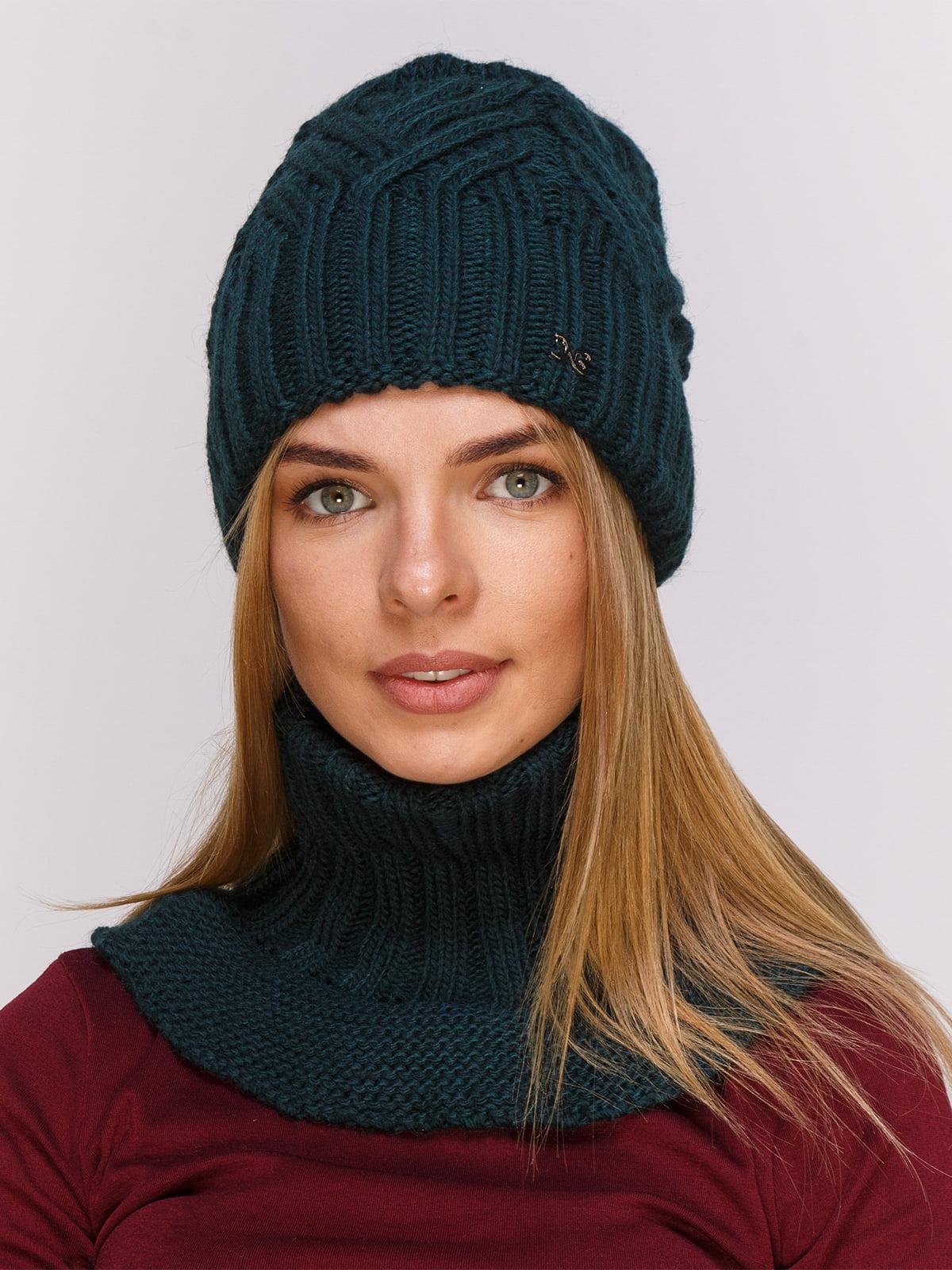 Комплект: шапка і комір   4567173
