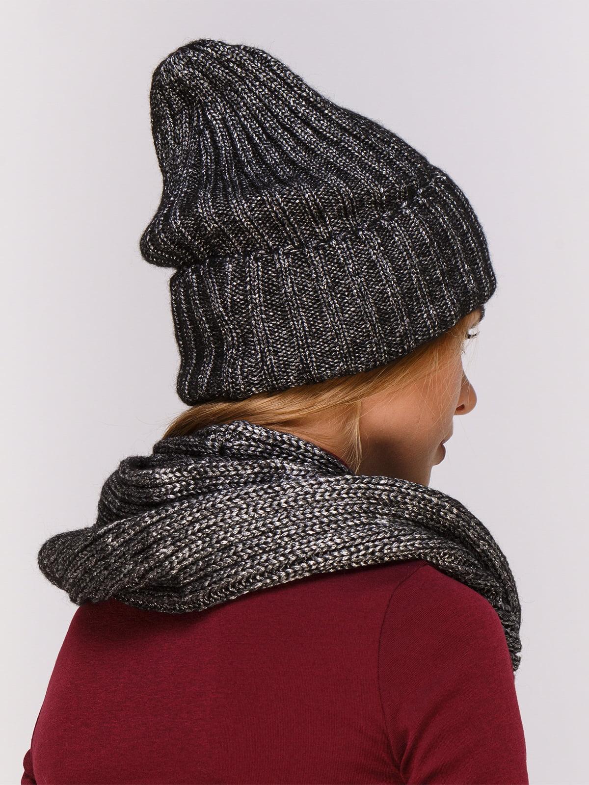 Комплект: шапка и хомут | 4567178 | фото 2