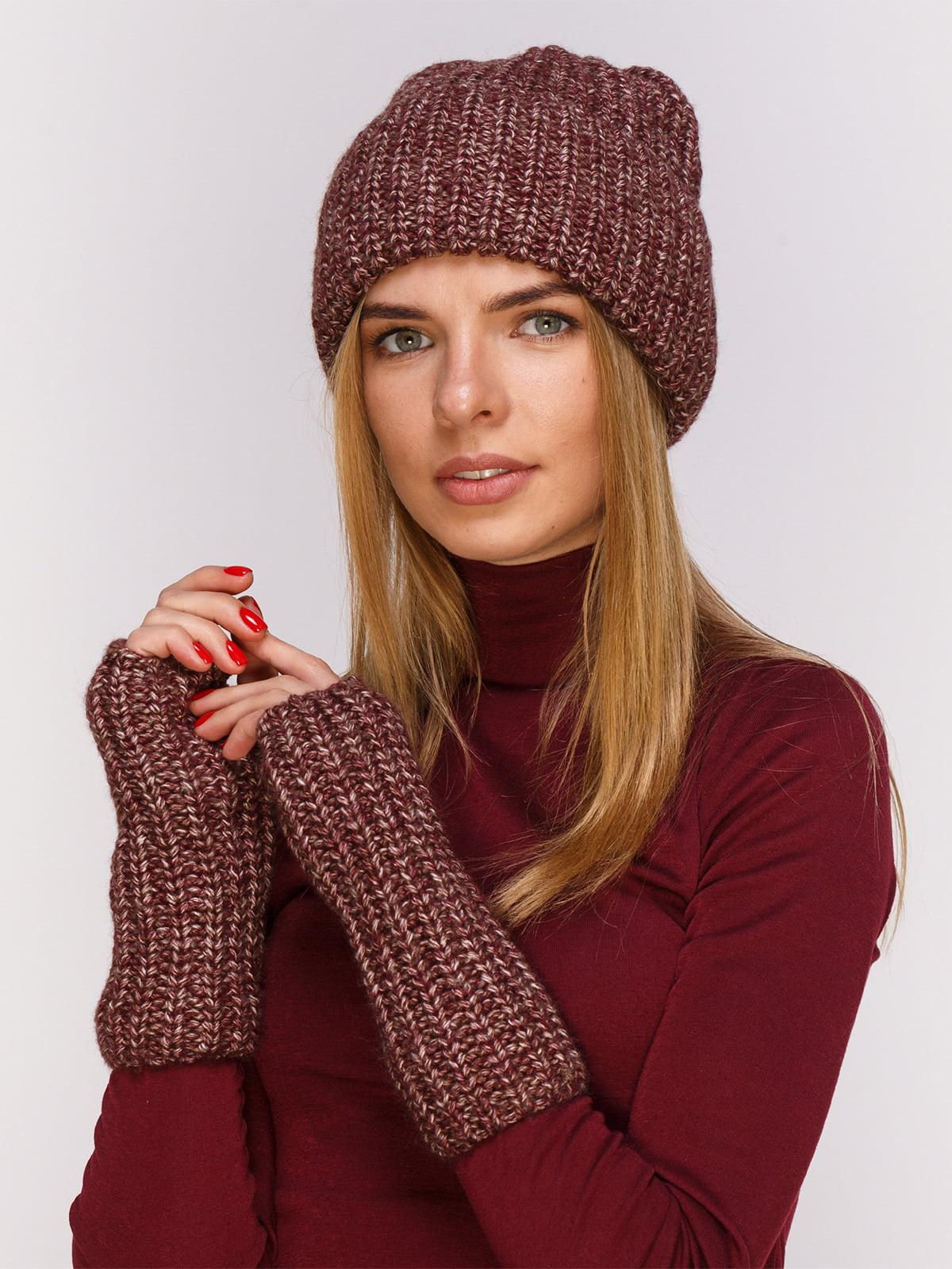 Комплект: шапка і мітенки | 4567179