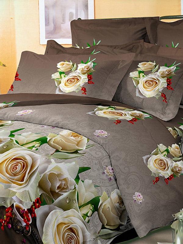 Комплект постільної білизни двоспальний (євро)   4561063