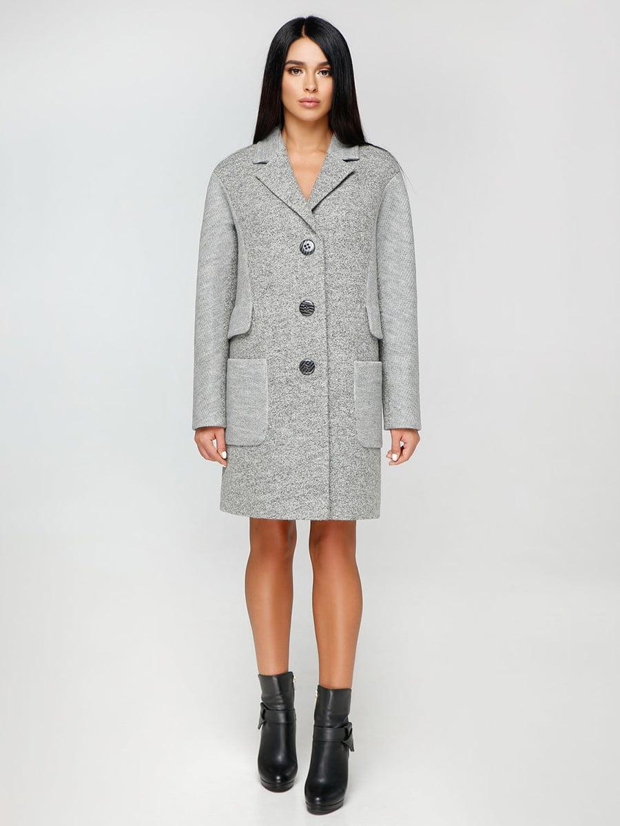 Пальто сіре | 4531073