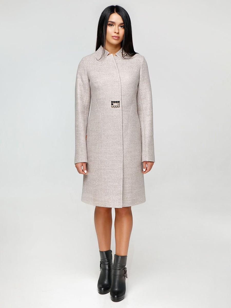 Пальто светло-бежевое | 4531089