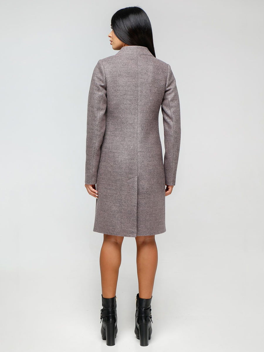 Пальто сиреневое | 4531090 | фото 2