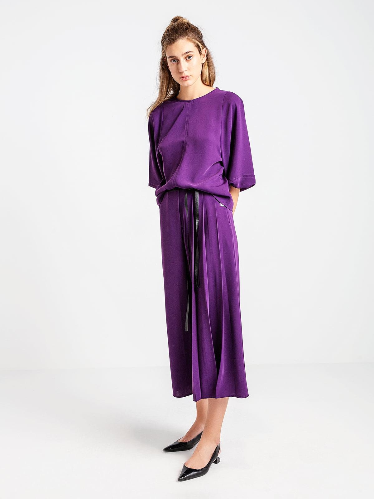 Кюлоты фиолетовые   4575042