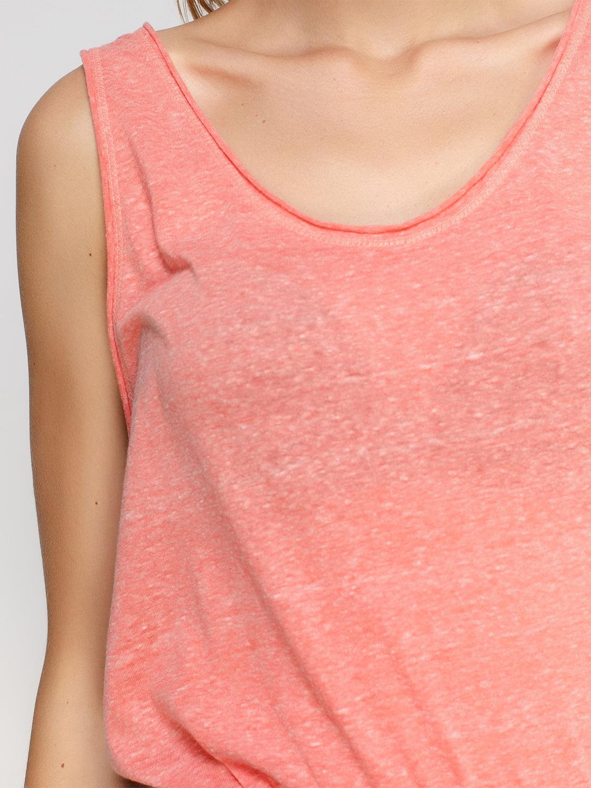 Майка персикового кольору | 4527023 | фото 4