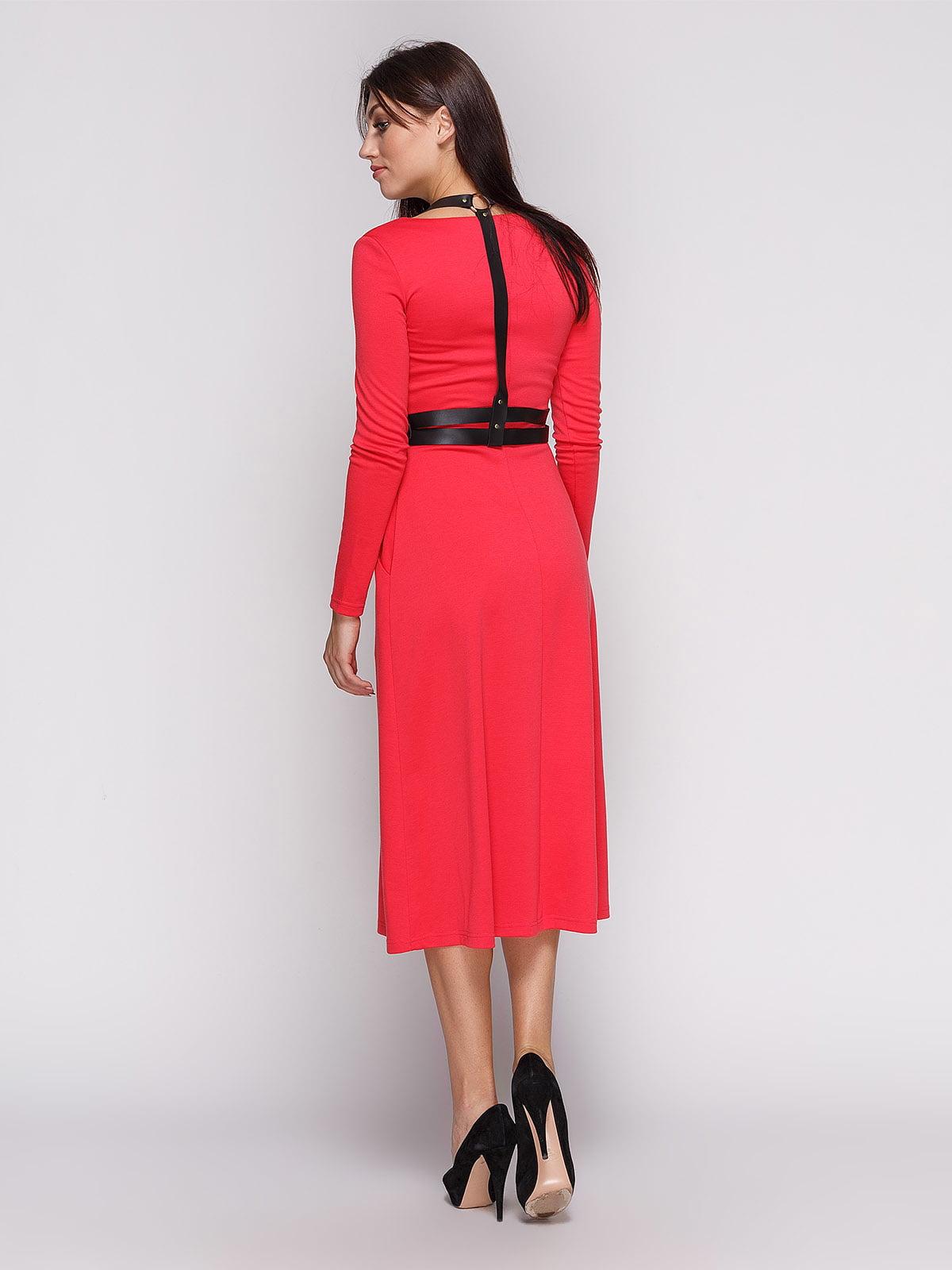 Платье коралловое | 3683580 | фото 2
